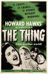 el enigma de otro mundo, la cosa howard hawks the thing