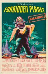 planeta prohibido forbidden planet poster