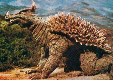 godzilla monsters monstruos anguirus
