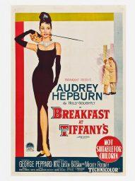 breakfast at tiffanys poster desayuno con diamantes