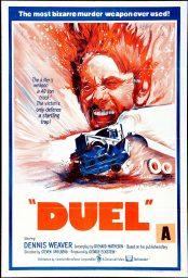 el diablo sobre ruedas duel poster