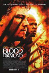 diamante de sangre poster películas de Leonardo DiCaprio