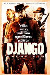 django desencadenado poster películas de Leonardo DiCaprio