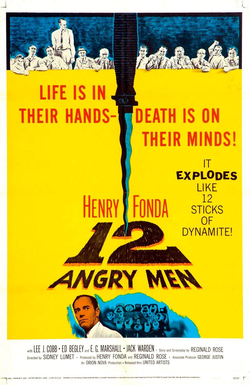 doce hombres sin piedad poster