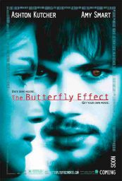 el efecto mariposa butterfly effect poster