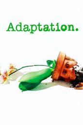 el ladron de orquideas adaptation poster