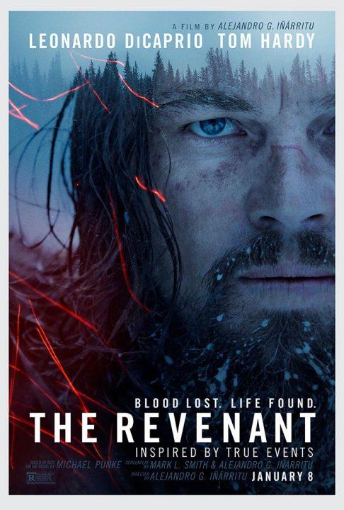 el renacido poster películas de Leonardo DiCaprio