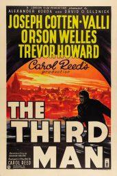 el tercer hombre poster