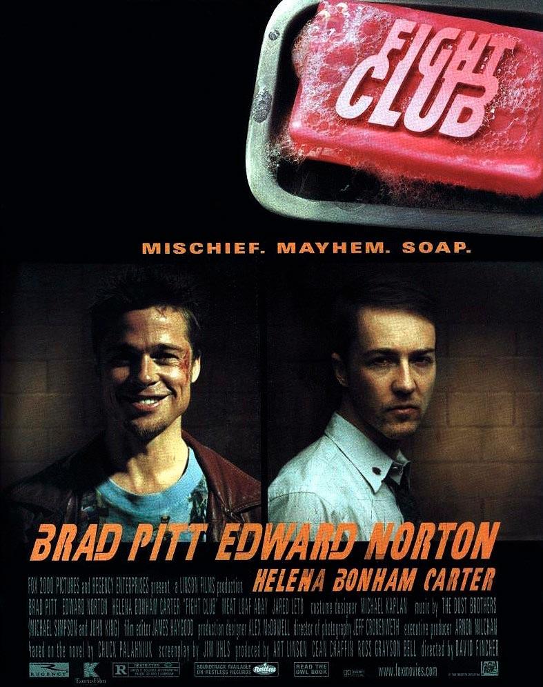 fight club el club de la lucha poster