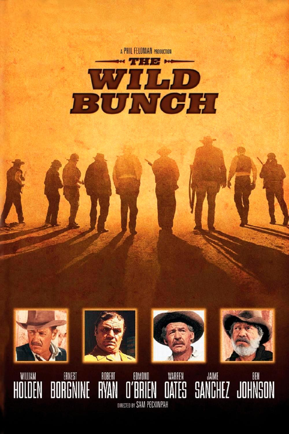 grupo salvaje poster the wild bunch
