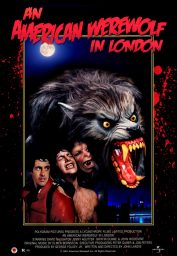 hombre lobo londres poster