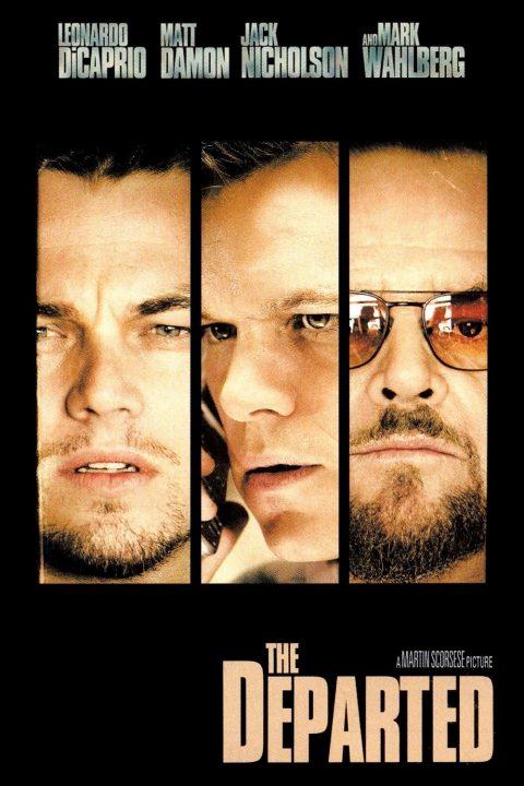 infiltrados poster películas de Leonardo DiCaprio