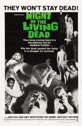 la noche de los muertos vivientes the night of the living dead poster