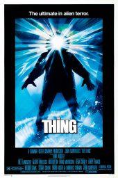 la cosa el enigma de otro mundo the thing poster