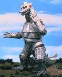 godzilla monsters monstruos mechagodzilla