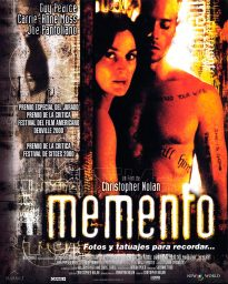memento poster guy pearce carrie anne moss