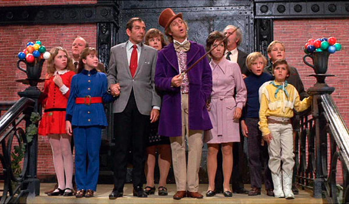 willy wonka un mundo de fantasia