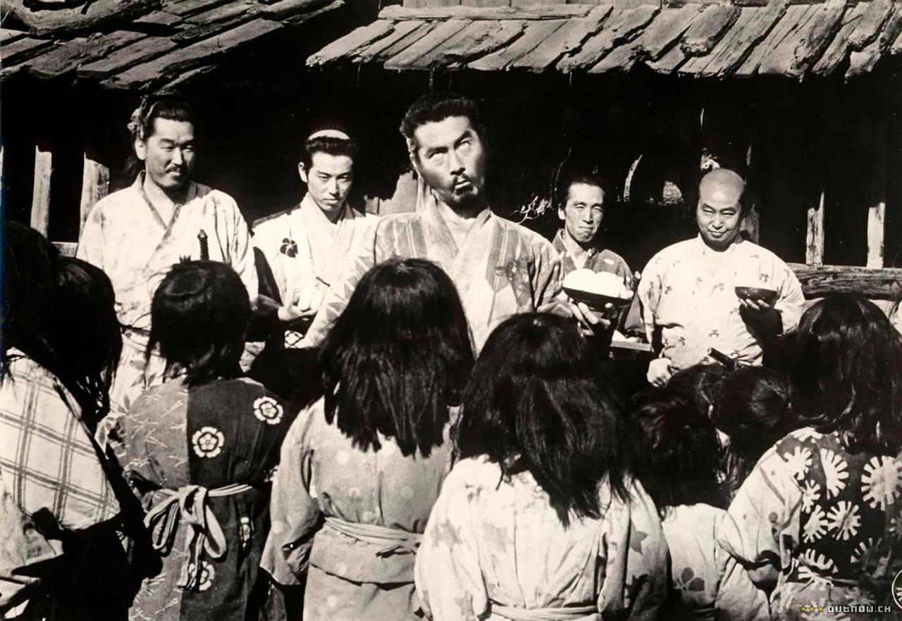 seven samurai siete samurais shichinin no samurai
