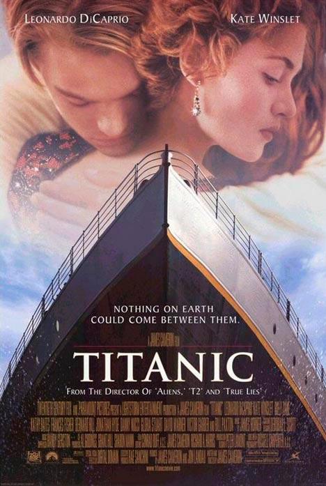 titanic poster películas de Leonardo DiCaprio