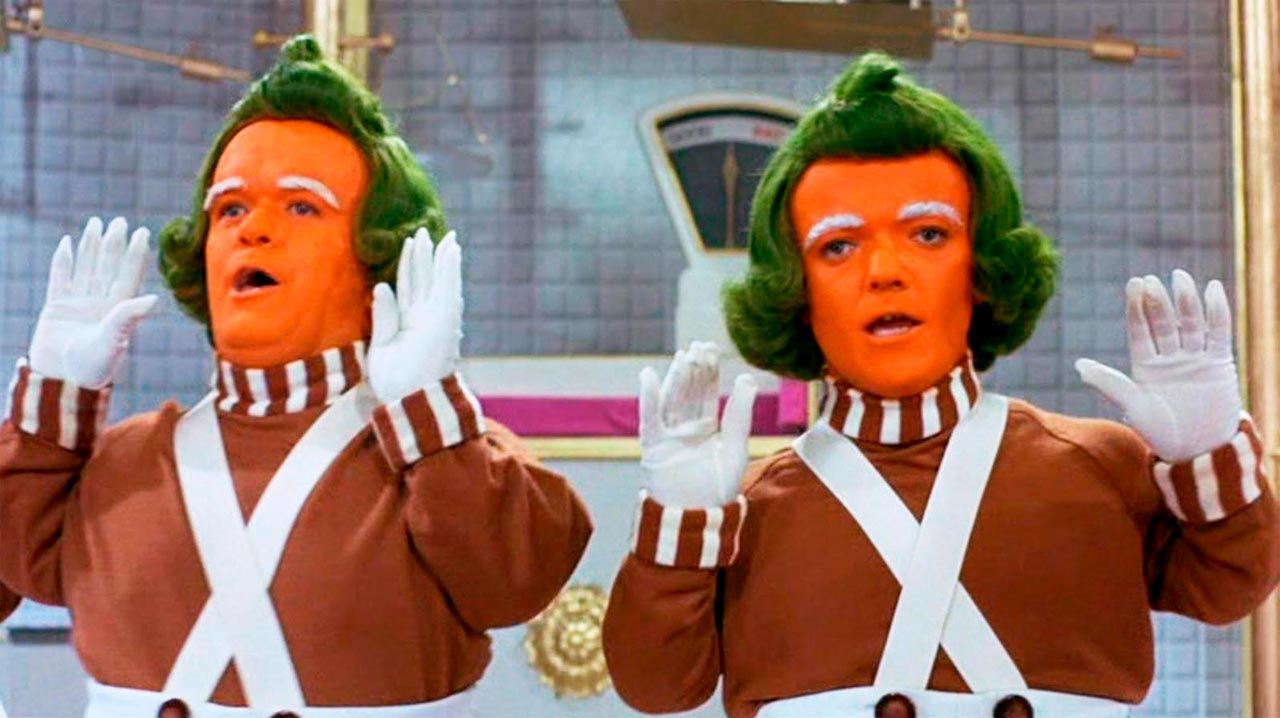 willy wonka oompa loompa mundo de fantasia